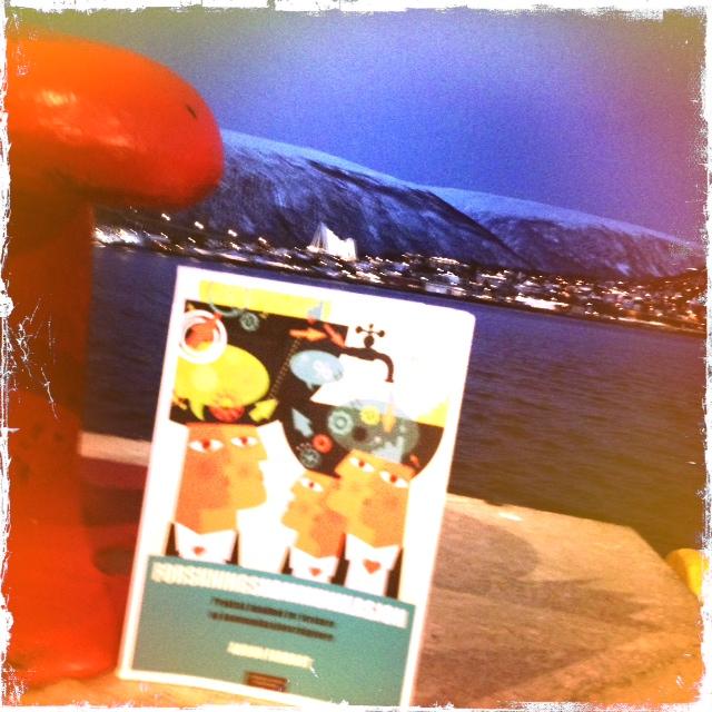 Bok på reisefot. Her fra kaia i Tromsø.