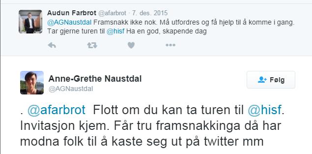 Fra Twitter til Sogndal (2)