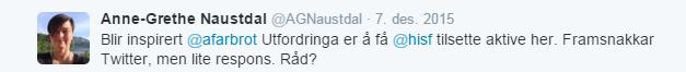 Fra Twitter til Sogndal_1. melding