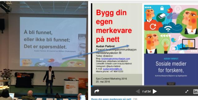 Del presentasjonen på nett_Audun Farbrot i manesjen