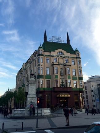 Hotel Moskva i Beograd