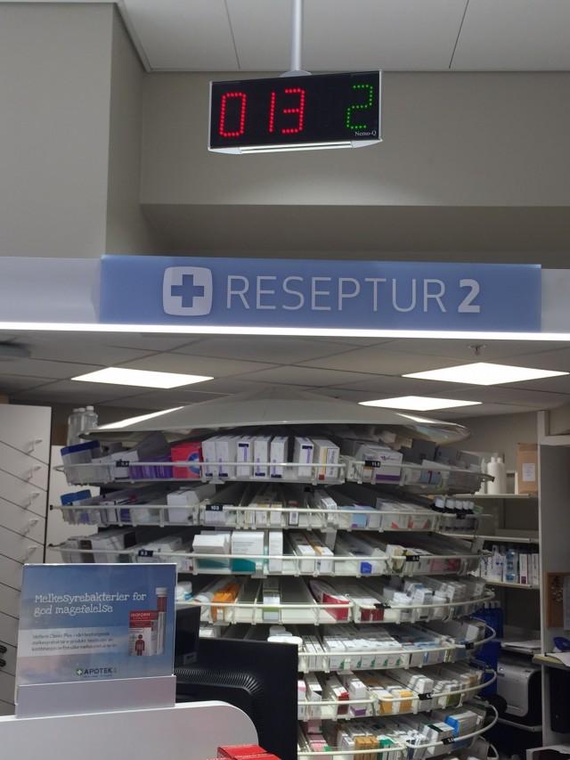 Stammespråk på apotek