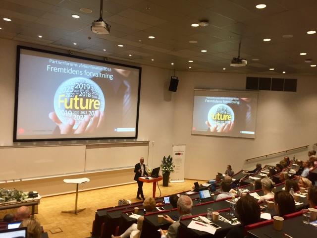 Partnerforums vårkonferanse 2018 (Foto - Audun Farbrot)